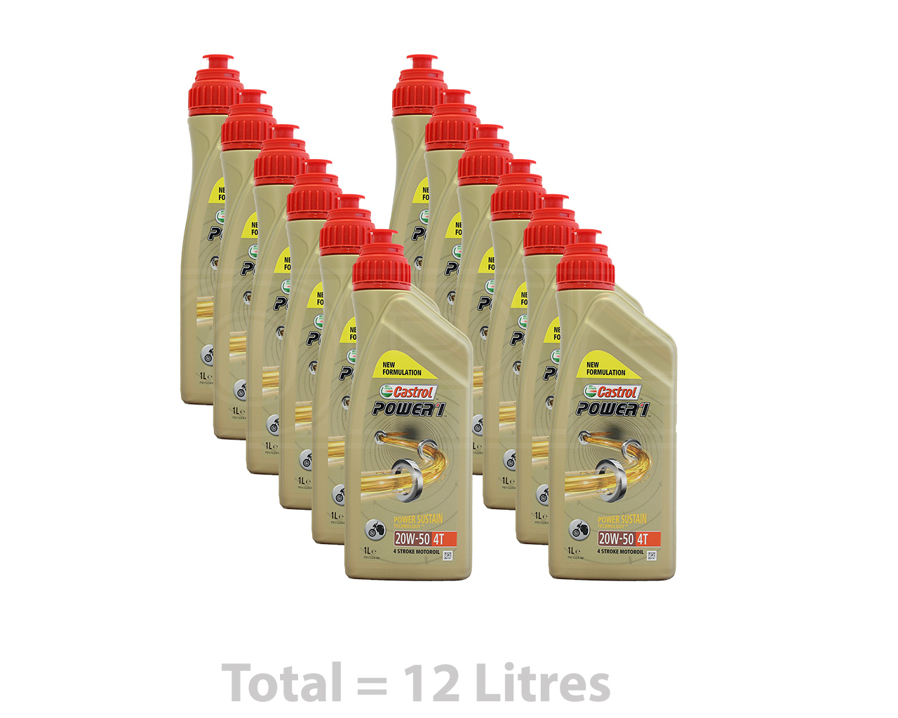 What is the viscosity of 20w/50 motor oil?