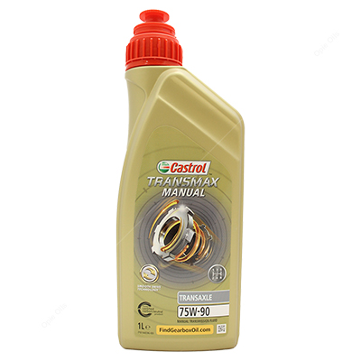Castrol Syntrans Transaxle 75W-90 Fully Synthetic Car Gearbox Oil - Formerly TAF-X