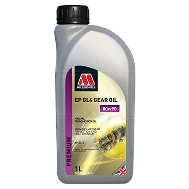 Millers Oils EP 80w-90 GL4 high quality gear oil