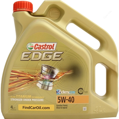 Castrol Edge Titanium 5W-40 FST Fully Synthetic Car Engine Oil