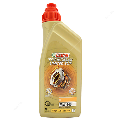 Castrol Syntrax Limited Slip 75W 140 Fully Synthetic Car Gearbox Oil - Formerly SAF-XJ