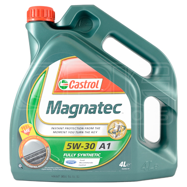 Castrol Magnatec 5W-30 A1 Fully Synthetic Car Engine Oil - Recommended by Ford