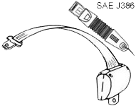 Diagram of Securon Seat Belt - Retracting Lap