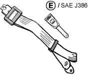 Diagram of Securon Seat Belt - Static Lap