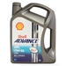Shell Advance Ultra 4T 10w-40 - 4 Litres