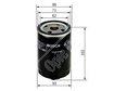 BOSCH Car Oil Filter 045110328 - Single