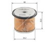 Car Fuel Filter 1457431352 - Single