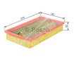 Car Air Filter 1457433257 - Single