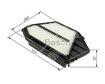 Car Air Filter F026400447 - Single
