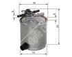 Car Fuel Filter F026402072 - Single