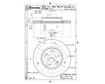 Brembo Brake Discs 09.A455.14 - Set (2 DISCS)