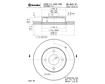 Brembo Brake Discs 09.A919.10 - Set (2 DISCS)