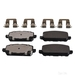 Febi Brake Pad Set 116406 - Single