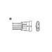 NTK Lambda Sensor (NGK1710) - Single