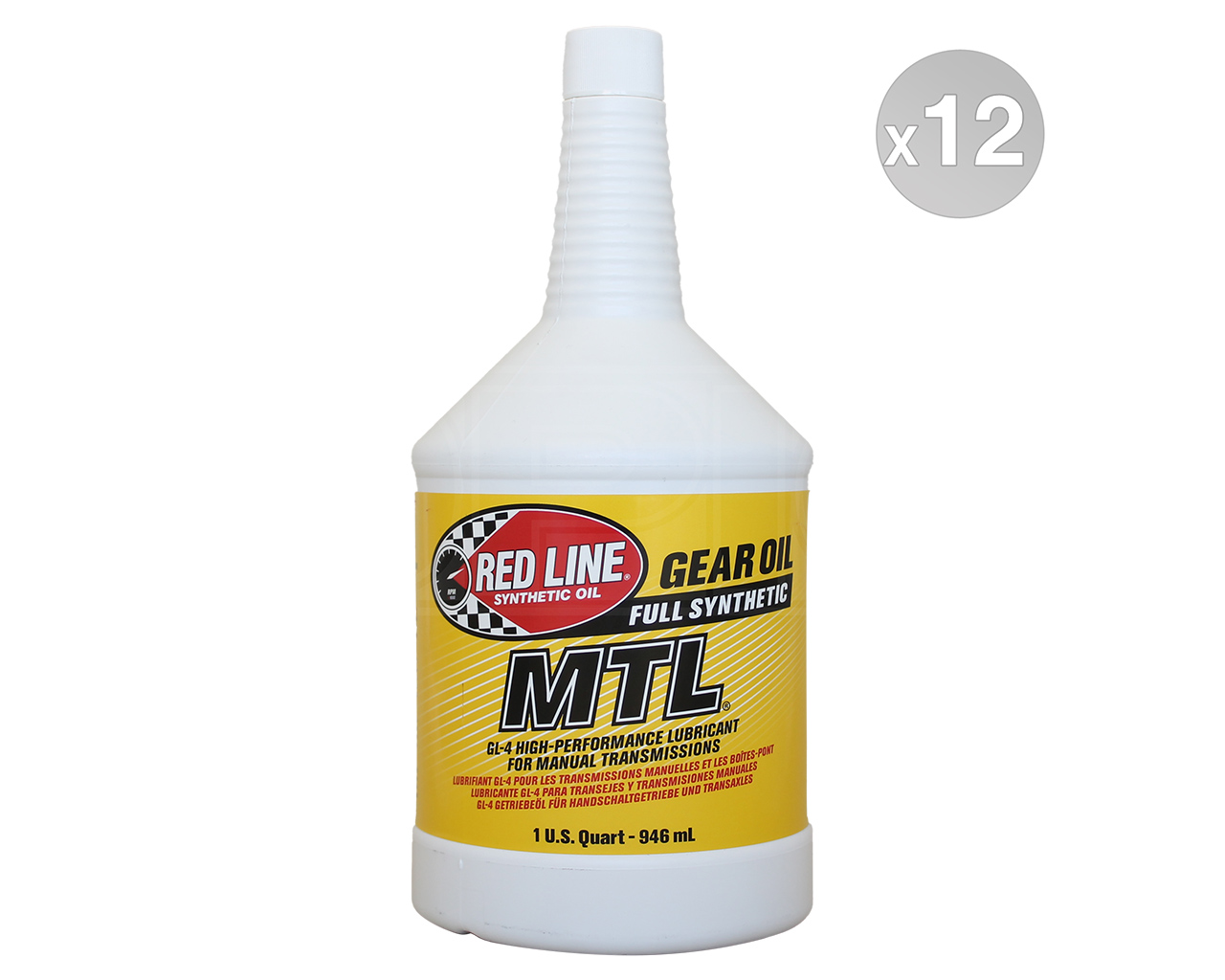 RED LINE Synthetic Manual Transmission Lubricant MTL 75W-80 GL4