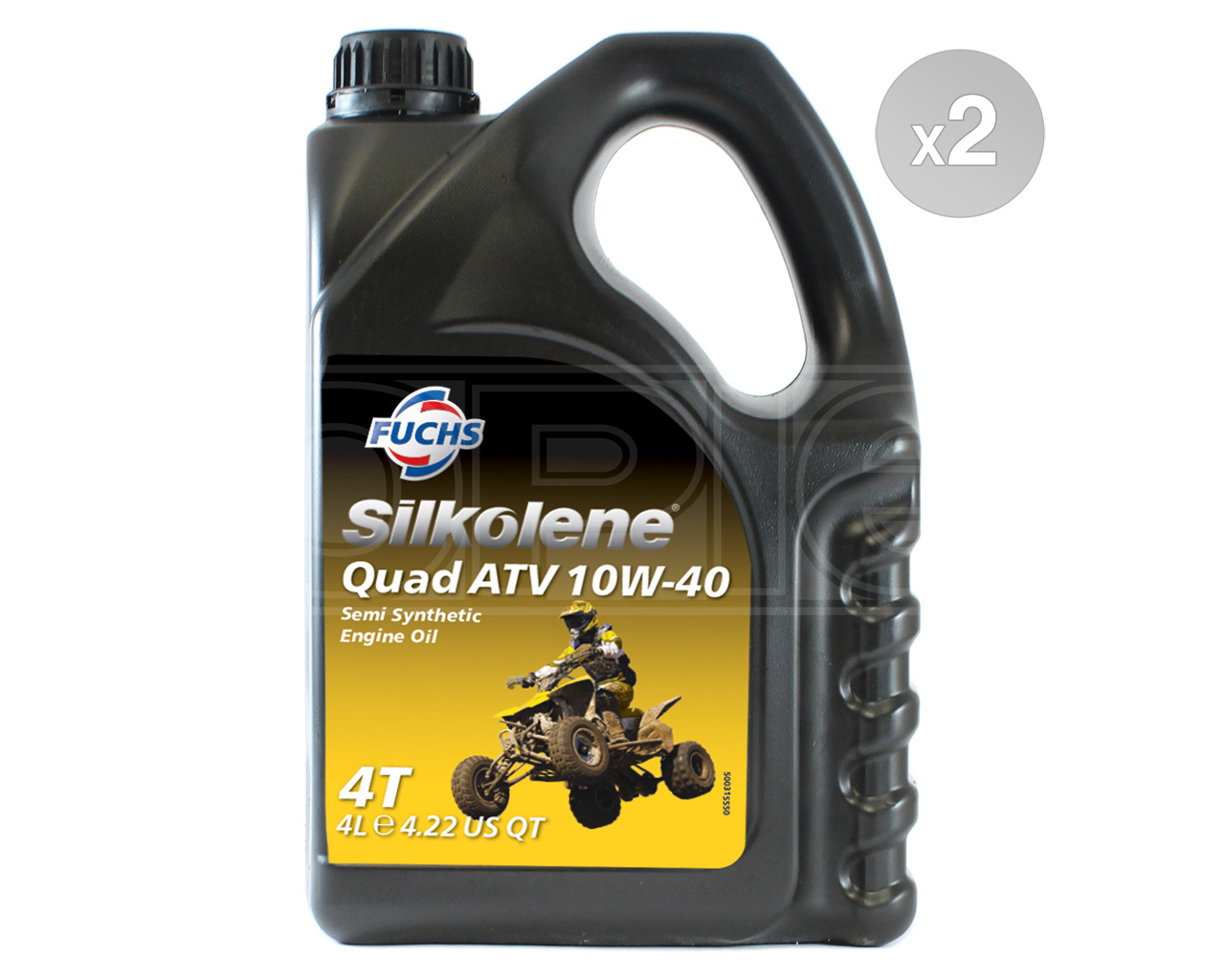 Silkolene QUAD ATV 10W-40 Semi-Synthetic 4T Engine Oil