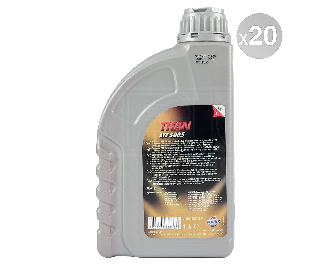 Fuchs TITAN ATF 5005 Automatic Transmission Fluid