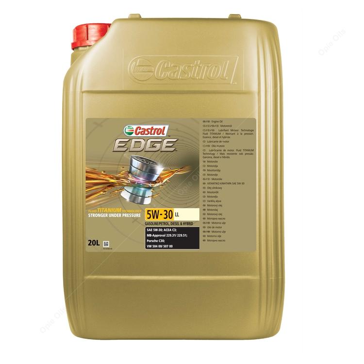 c9b06657438 Castrol Edge Titanium 5w-30 LL Synthetic Engine Oil