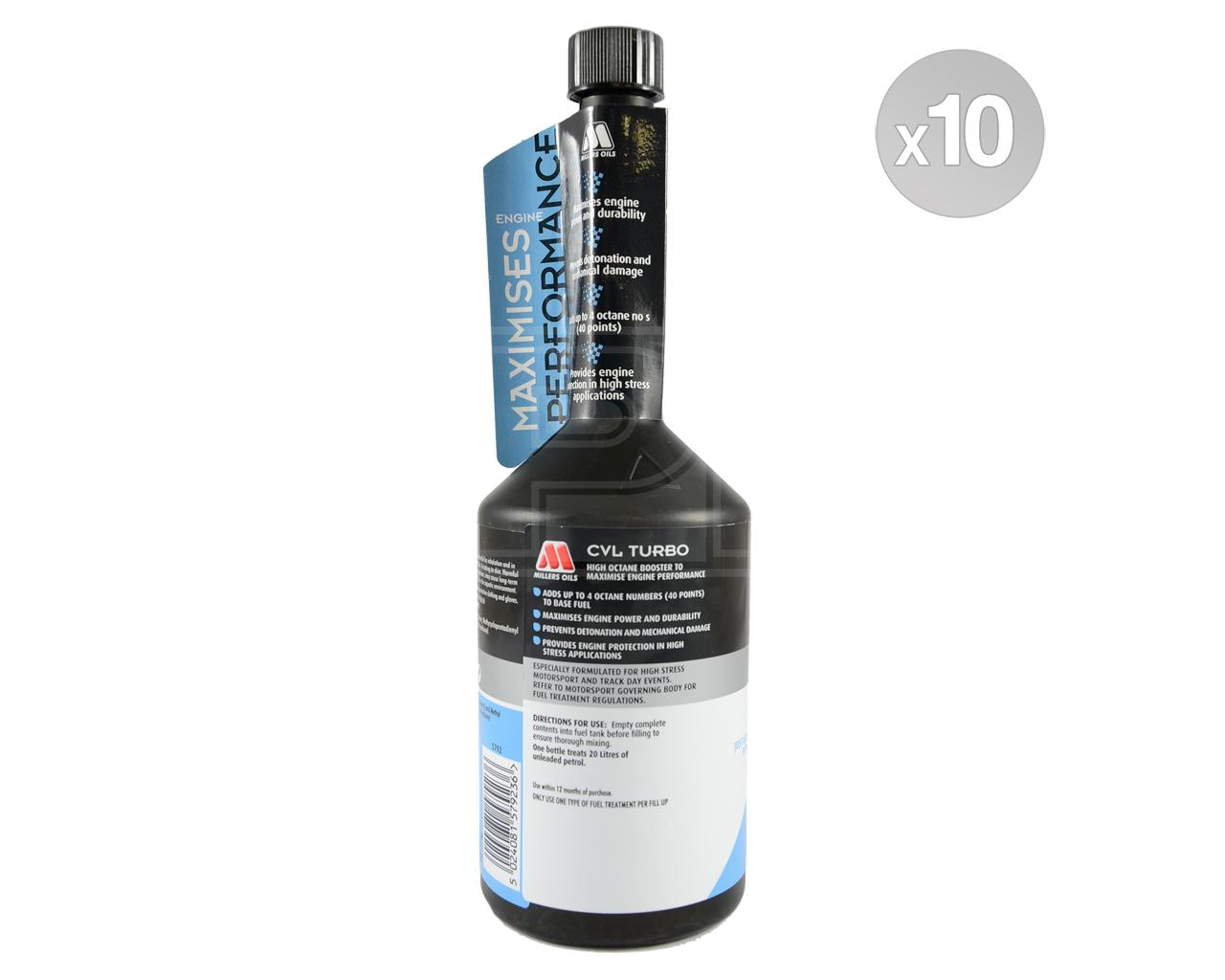 Millers Oils CVL Turbo octane booster