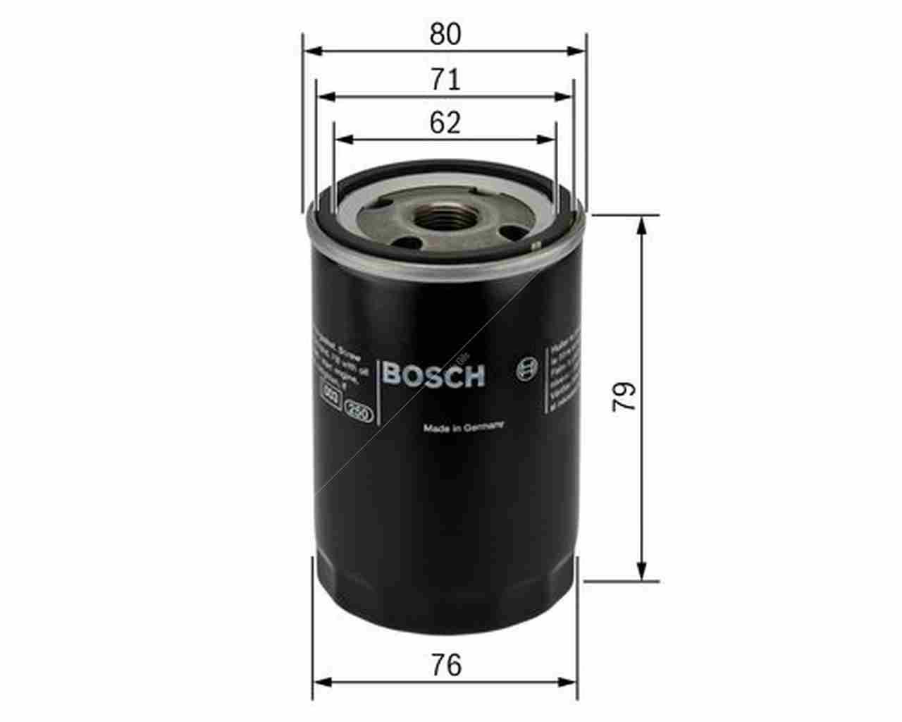 BOSCH Oil Filter 0451103298 [ P 3298 ]