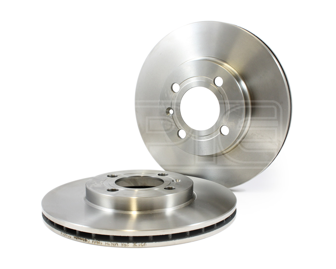 Genuine OE Quality Apec Front Vented Brake Discs DSK109