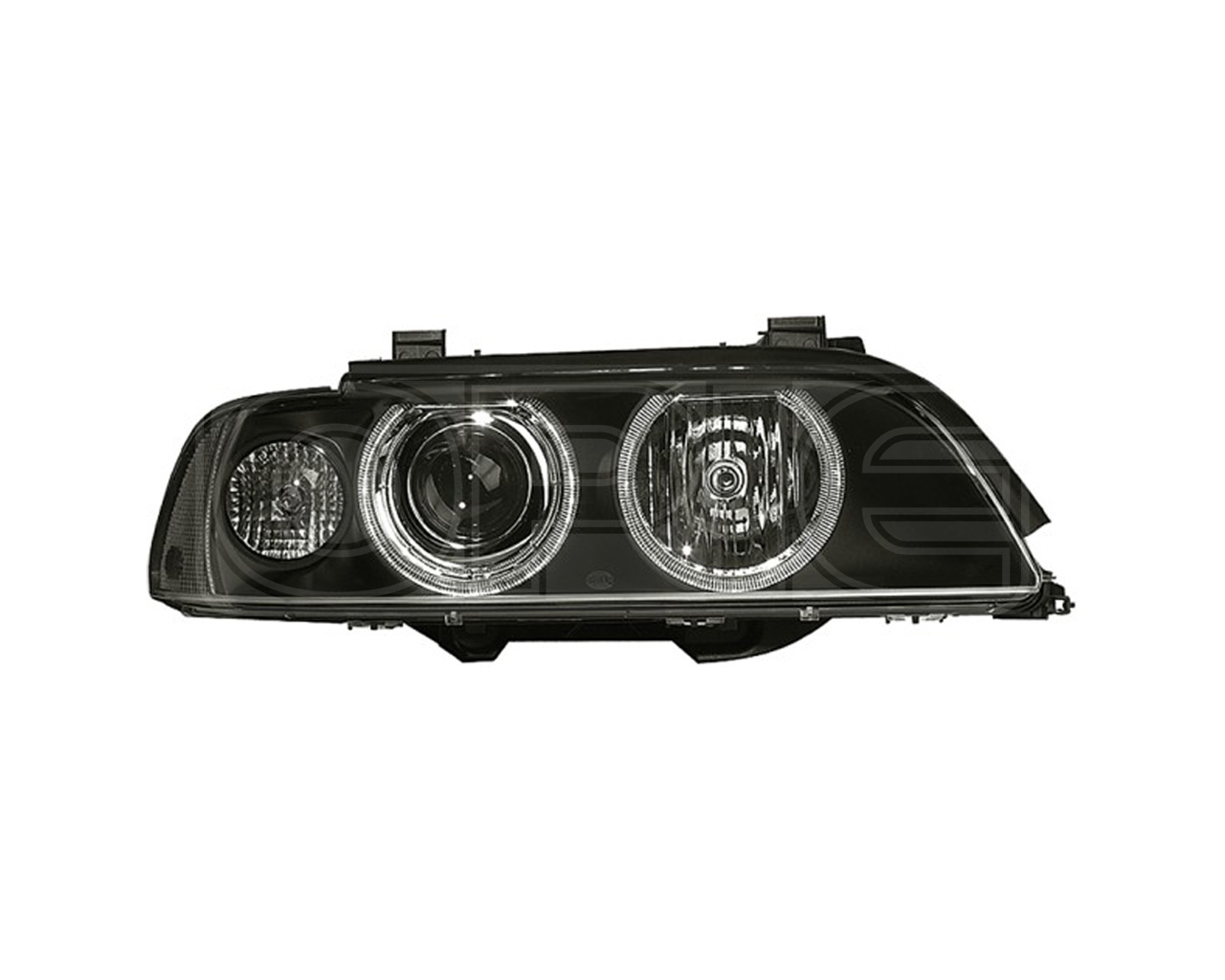 Headlight Headlamp Fits Bmw 5 E39 Xenon Right Hand Side 00 Halogen H7 With Clear Lens Hella 1ll 008 052 601