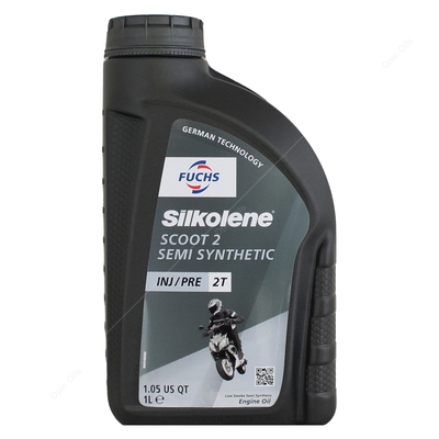 Silkolene SCOOT 2 Semi-Synthetic 2-Stroke Engine Oil For Scooters and Mopeds