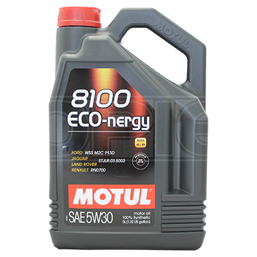 Motul 8100 Eco Nergy 5w 30 Synthetic Car Engine Oil