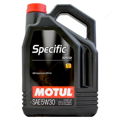 Motul Specific Mercedes Benz 229 52 5W-30 Fully Synthetic Car Engine Oil