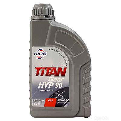 Fuchs TITAN Gear Hyp 90 Hypoid Gear Oil GL5 80w-90