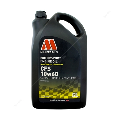 Millers Oils CFS 10w-60 Competition Full Synthetic Engine Oil