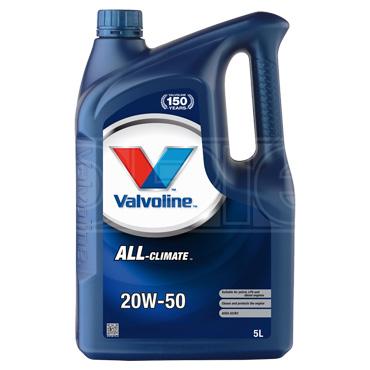 Valvoline All-Climate 20w-50 High Quality Engine Oil