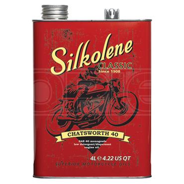 Silkolene Chatsworth SAE 40 Classic & Vintage Monograde Mineral Engine Oil
