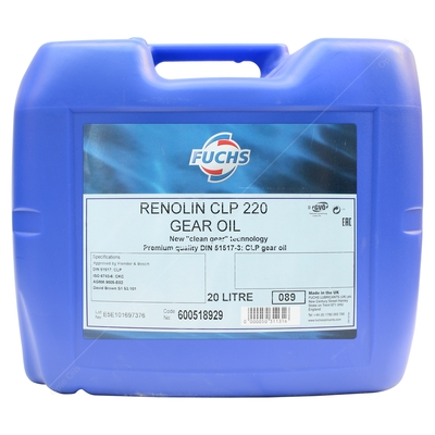 Fuchs Renolin CLP 220 High Quality Industrial Gear Oil