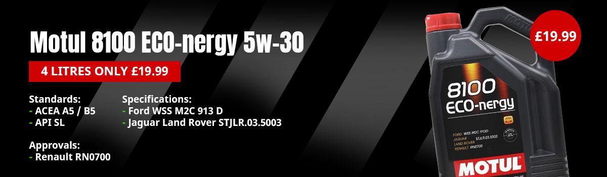 Motul 8100 Eco-nergy 5w-30