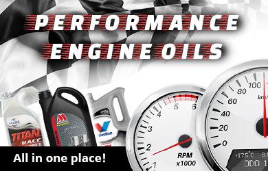 Performance Engine Oils