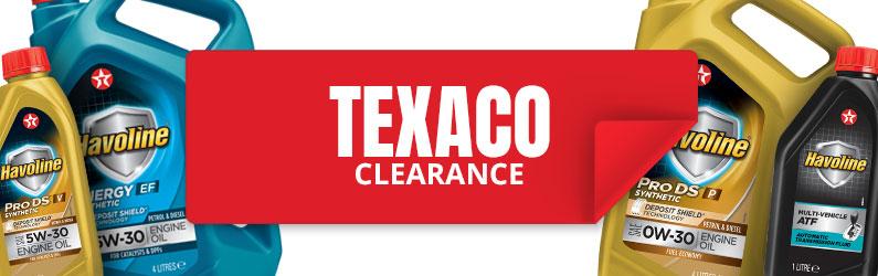 Texaco clearance